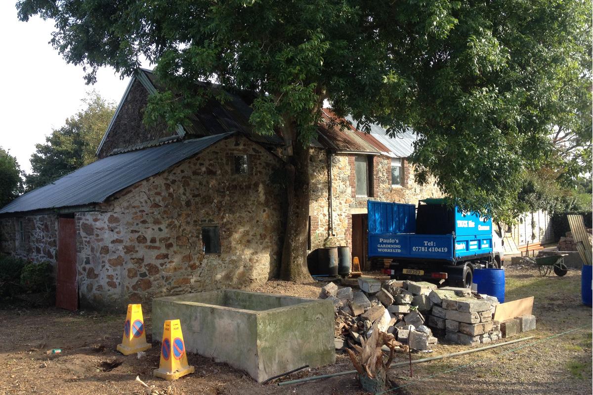 1. existing barnr